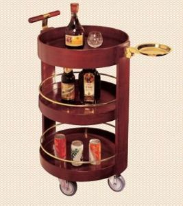 Japanese Wine Cart for Hotel/ Hotel Liquor Trolley pictures & photos