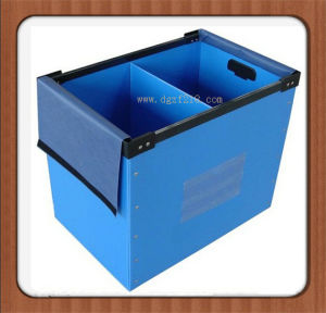 India Customized Plastic Corrugated Storage Box with High Quality Manufacturer