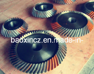 Plain Carbon Steel Rotary Table Mine Drilling Spiral Bavel Gear pictures & photos