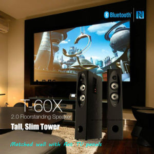 T60X Home Theater Floor-Standing TV Bluetooth Speaker Remote 2.0 Tower