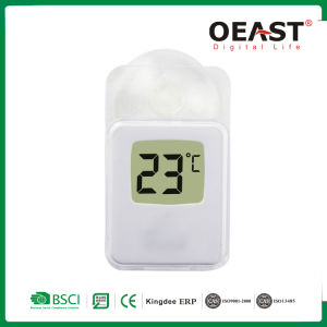 Digital Window Thermometer Indoor Outdoor Weather Station Suction Lcd Ot5551