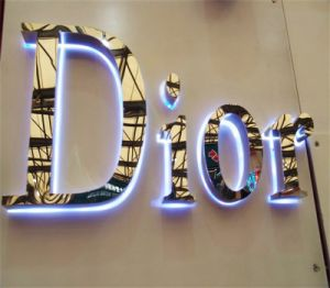 3D Store Customized LED Channel Letters for Cloth Advertising Sign pictures & photos