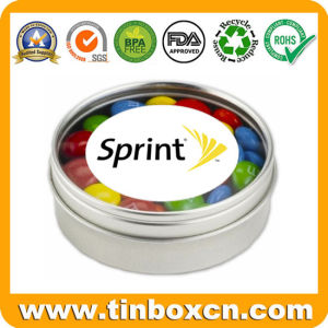 Round Custom Mint Tin for Metal Candy Box Packaging pictures & photos