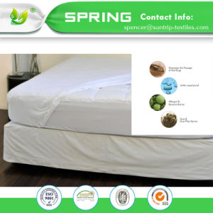 Luxury Bug Proof Waterproof Mattress Protector Hypoallergenic Bed Cover-Cotton