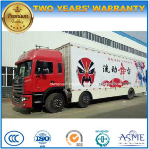 JAC 3 Axles High Quality 80 Square Meters Movable Stage Performing Truck