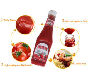 340 G Tomato Ketchup with Natural Flavor pictures & photos