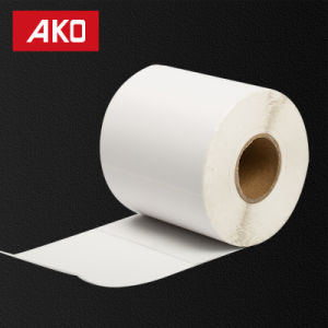 "2""*1.5"" (50.8mm*38mm) White Matte Labels Thermal Coated Layer Self Adhesive Sticker for Supermarket pictures & photos"