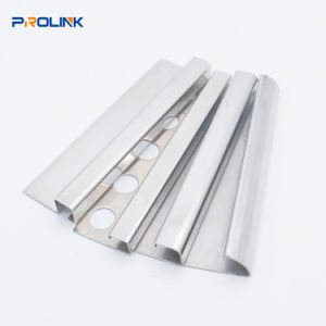 China Stainless Steel Curved Square, Curved Transition Strip For Laminate Flooring