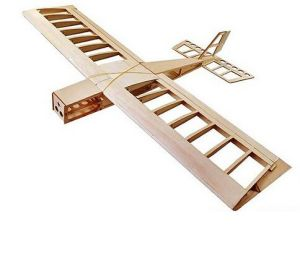 Rc Airplane Big Stick Wingspan 1060mm Laser Cut Balsa Wood Model Airplane Building Kit