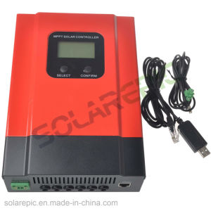 China 20A/30A/40A MPPT Solar Charge Controller 12V/24V/36V/48VDC