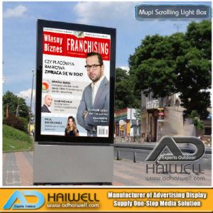 Digital Advertising Scrolling Light Boxes