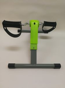 Folding Exercise Peddler Portable Pedal Exerciser with Electronic Display