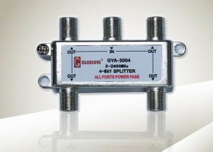 Splitter 4-Way (GYA-3004)