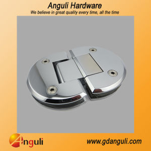 180 Degree Semicircle Shower Door Hinge (WT-6008) pictures & photos