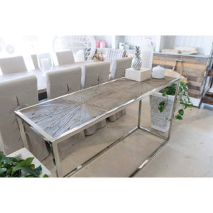 Metal Couch Console Behind Sofa Table