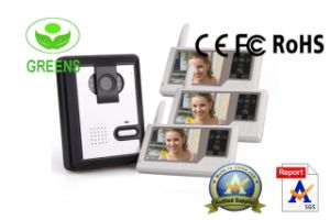 3.5 Inch Touch New DVR Function Video Door Bell Screen /Wiereless Video Door Phone with DVR Function (GVDP359MJDVR13)