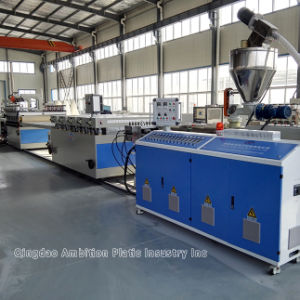 PVC Foam Sheet Extrusion Line for Advertising