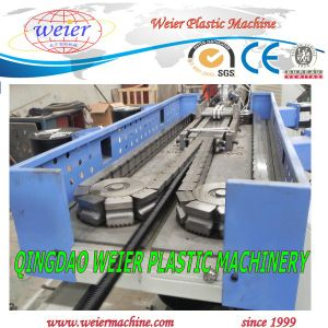 PVC Electric Conduit Corrugated Pipe Extrusion Line pictures & photos