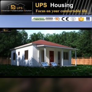 Easy Assembling Prefabricated Cement House with Three Bedroom for Holiday pictures & photos