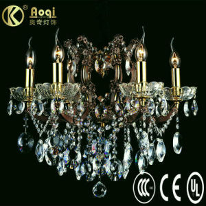 Europ Style Crystal Chandelier Lamp (AQ01004-6) pictures & photos