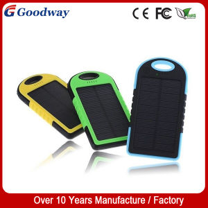 Solar Mobile Power Charger/Double USB External Power Bank