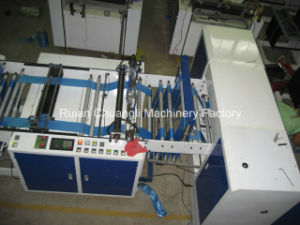 Full Auto Plastic Garbage Bag on Roll Making Machine pictures & photos