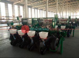 Seed Drill 4 Rows High Performance Corn Planter Maize Seeder