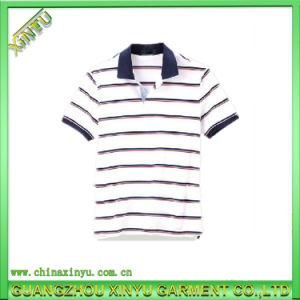 High Quality Custom Striped Polo Shirt Cotton pictures & photos