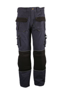 100% Cotton Cargo Style Work Pants pictures & photos