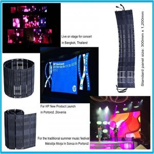Outdoor P18.75mm LED Helix Flexible Display Screen pictures & photos