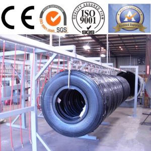 Multi Functional Track for Tire Retreading