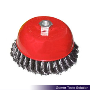 Good Quality Steel Wire Cup Brush (LT06262)