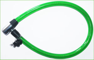 Best Price Bicycle Spiral Cable Lock with Keys (BL-040) pictures & photos