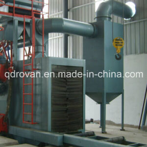 Section Steel Shot Blasting Machine with Dust Collecting System