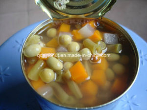 Canned Mixed Vegetables 5 Kinds Mixed ISO22000 HACCP Halal pictures & photos