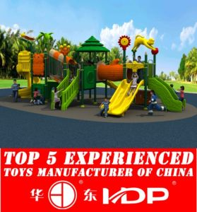 Kids Plastic Toys Playground Toys China Children Outdoor Equipment (HD15A-027A) pictures & photos