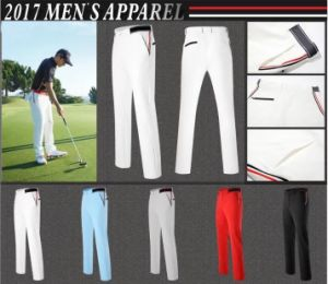 2017 Men Apparel New Fashionable Golf Pants Golf Clothes Dry Fast Breathable Golf Trousers pictures & photos