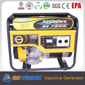 AC Single Phase/AC Three Phase Output 7kw Gasoline Generator pictures & photos