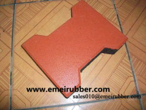 Horse Cow Pathway Rubber Tile pictures & photos