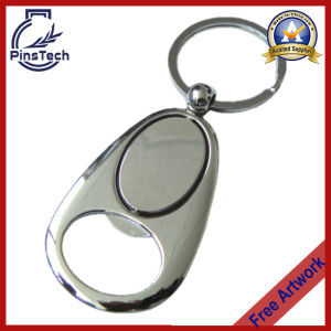 Bottle Opener Keychain with Laser or Silk Screen Logo