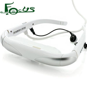 "98"" 3D Virtual Screen HDMI Video Glasses High Resolution Support Games Video"