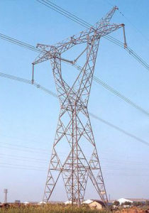 Hot-DIP Galvanized Steel Transmission Tower in China pictures & photos