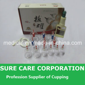 China Vacuum Medical Cupping Set with 12 Cups pictures & photos