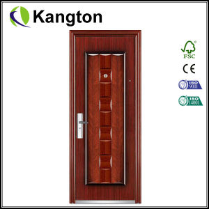 One and Half Door-Leaf Steel Door (steel door) pictures & photos