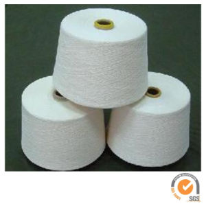 Polyester Air Covered Yarn with Spandex pictures & photos