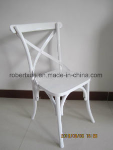 Wooden Cross Back Chair for Wedding pictures & photos