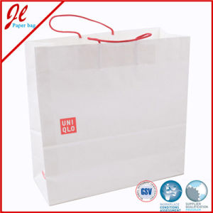 Art Paper Holiday Gift Packaging Shopping Bag with Handle pictures & photos