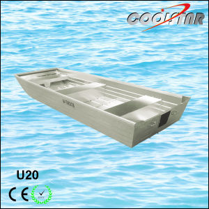 Flat Bottom Stability Aluminium Rescue Boat for Fishing pictures & photos