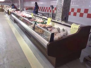 Service Counter Used Meat Display Refrigerator pictures & photos