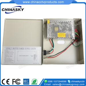DC 12V 5A CCTV Security Systems Power Supply (12VDC5A9PN) pictures & photos